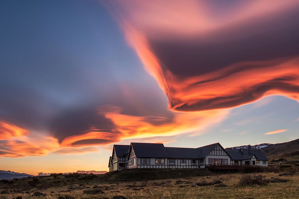 Breathtaking clouds in Patagonia