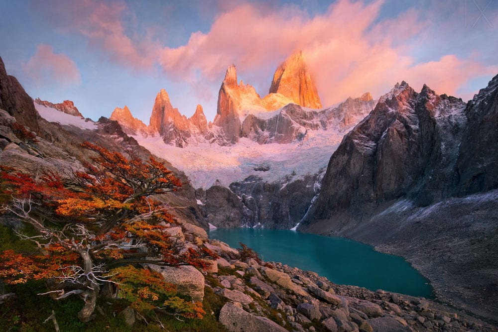 Glacier Lake in Patagonia