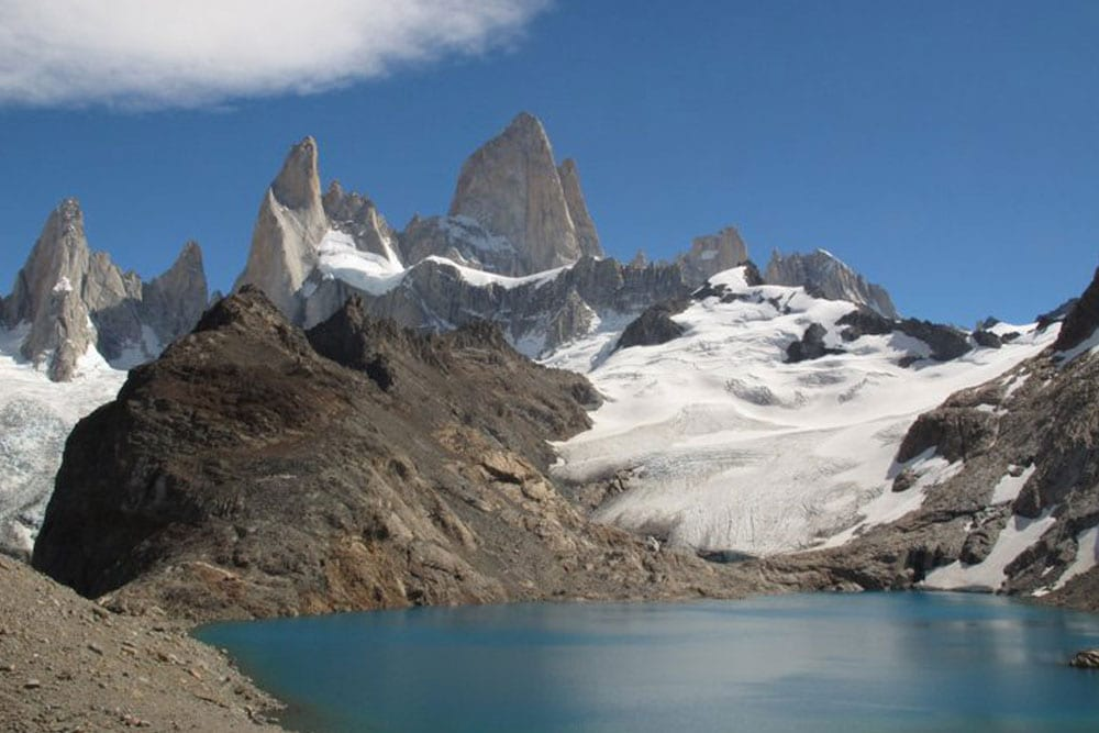 Glacier Lake in Patagonia 2